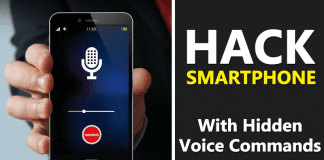 Beware! Your Smartphone Can Be Hacked By Hidden Voice Commands