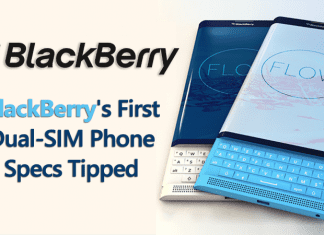 BlackBerry's First Dual-SIM Phone Specs Tipped