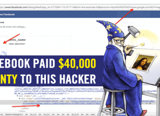 Facebook Paid $40,000 Bounty To This Hacker!