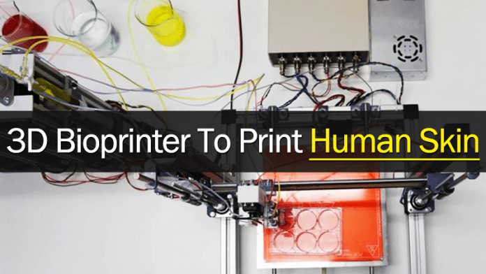 Researchers Create A 3D Bioprinter To Print Human Skin