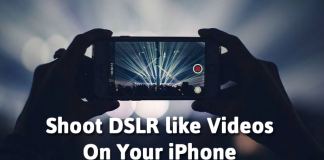 10 Useful Apps To Shoot DSLR Like Videos On Your iPhone