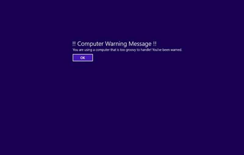 How to Display a Message During Windows Startup