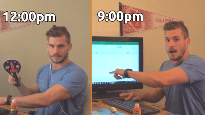 Man Spent 9 Hours Pressing Arrow Key To Reach Bottom Of An Excel Sheet!