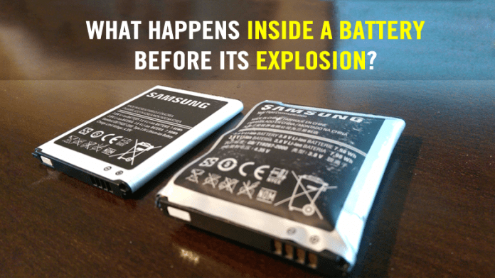 Here's What Happens Inside A Battery Before Its Explosion