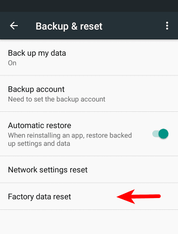 Factory Data Reset - How to Properly Backup and Wipe Your Android Device Before Selling It