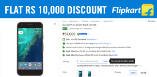 Grab It! Google Pixel Gets Flat Rs 10,000 Discount On Flipkart