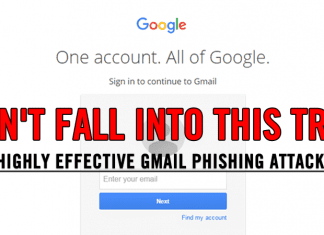 Alert!! Don't Fall In This Highly Effective Gmail Phishing Trap
