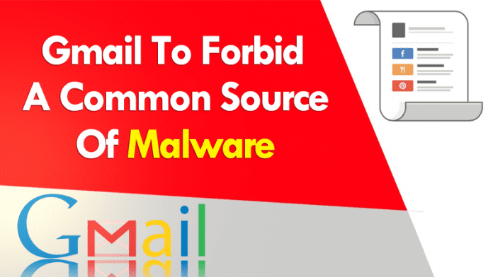 Gmail To Forbid JavaScript Attachments, A Common Source Of Malware