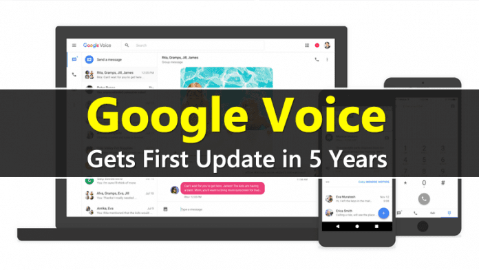 Google Voice Just Got Its First Big Update In Five Years