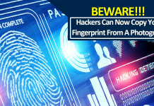 Hackers Can Now Copy Your Fingerprint From A Photograph
