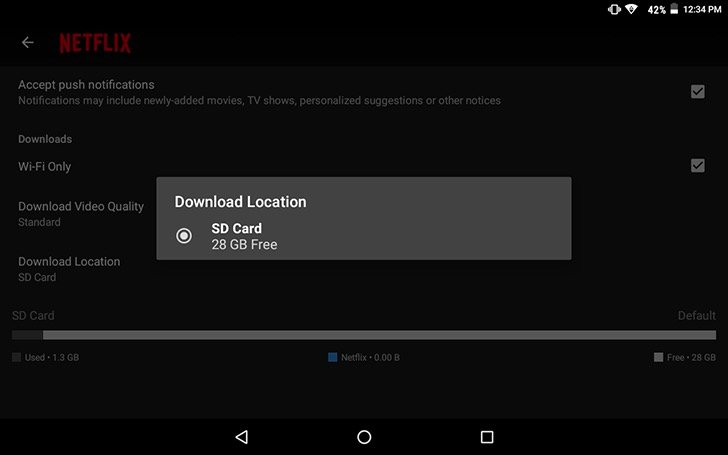 IMG Netflix - Now You Can Download Netflix Movies And Shows To Your SD Card