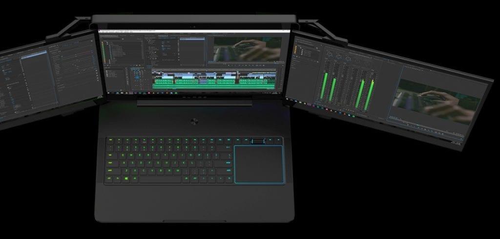 Image 1 1024x489 - World's Most Insane Laptop Has Three Screens