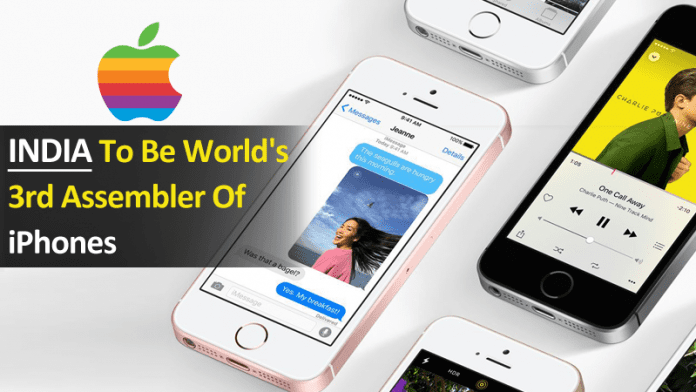 India To Be World's Third Assembler Of Apple iPhones