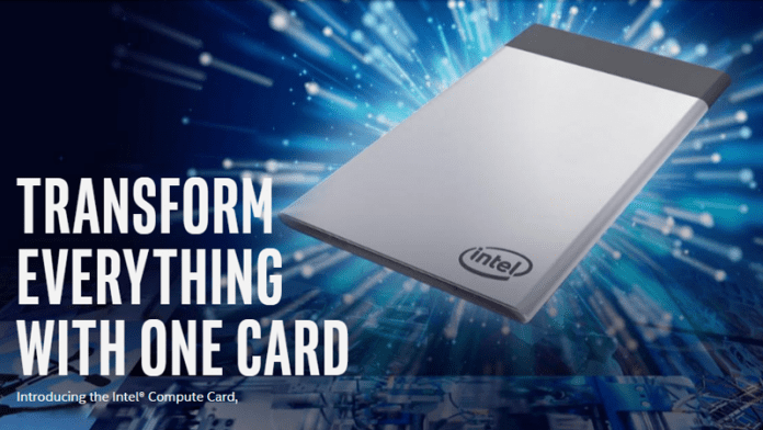 Intel's Compute Card Is A Powerful PC That Can Fit In Your Wallet