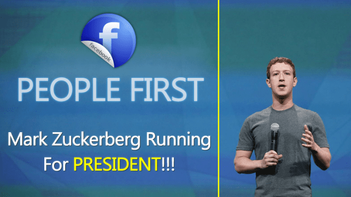 Is Facebook CEO Mark Zuckerberg Running For President?