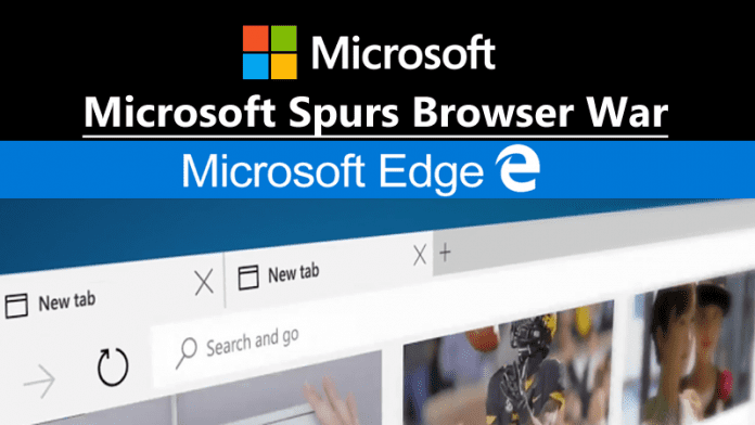Microsoft Spurs Browser War With Leading Browsers