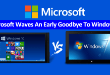 Microsoft Waves An Early Goodbye To Windows 7