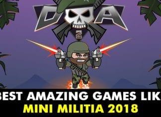 Top 10+ Best Amazing Games Like Mini Militia