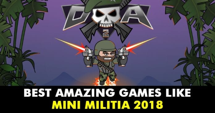 Top 10+ Best Amazing Games Like Mini Militia