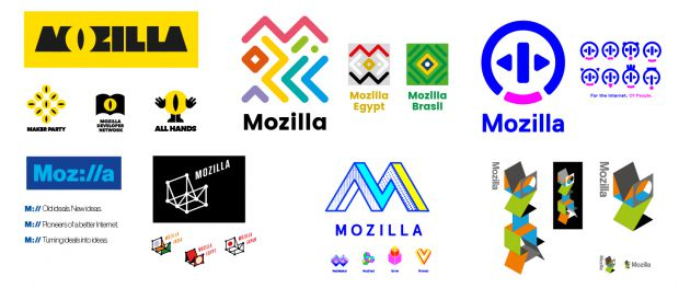 Mozilla Logo Samples - Mozilla Just Unveiled Its New Logo
