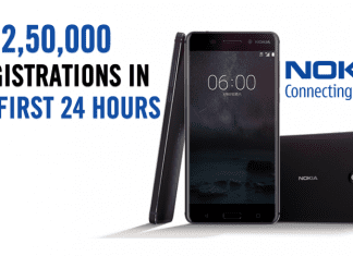 Nokia 6 Is Breaking All Records! Gets 2,50,000 Registrations In 1 Day