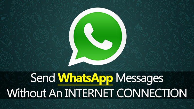 Now You Can Send WhatsApp Messages When You're Offline On An iPhone