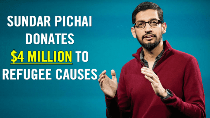 Sundar Pichai Donates $4 Million To Refugee Causes After Trump's Travel Ban