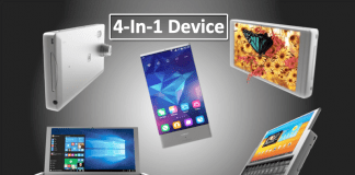 This Device Is A 3D Screen Tablet, Windows Computer, Android Phone & Camera