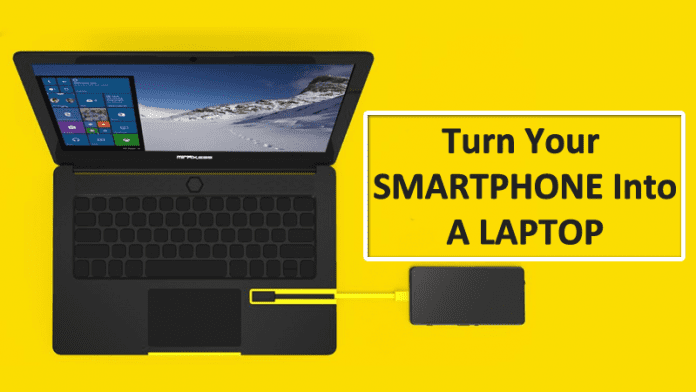 This Device Turns Your Smartphone Into A Laptop