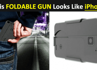 This Foldable Gun Looks Like iPhone Puts Europol On Alert