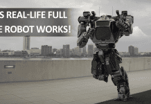 This Giant Robot Takes Its First Steps With A Pilot On Board