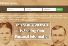This Scary Website Is Sharing Your Personal Information