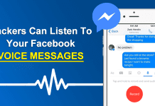 This Simple Hack Allows Hackers To Listen Your Facebook Voice Messages