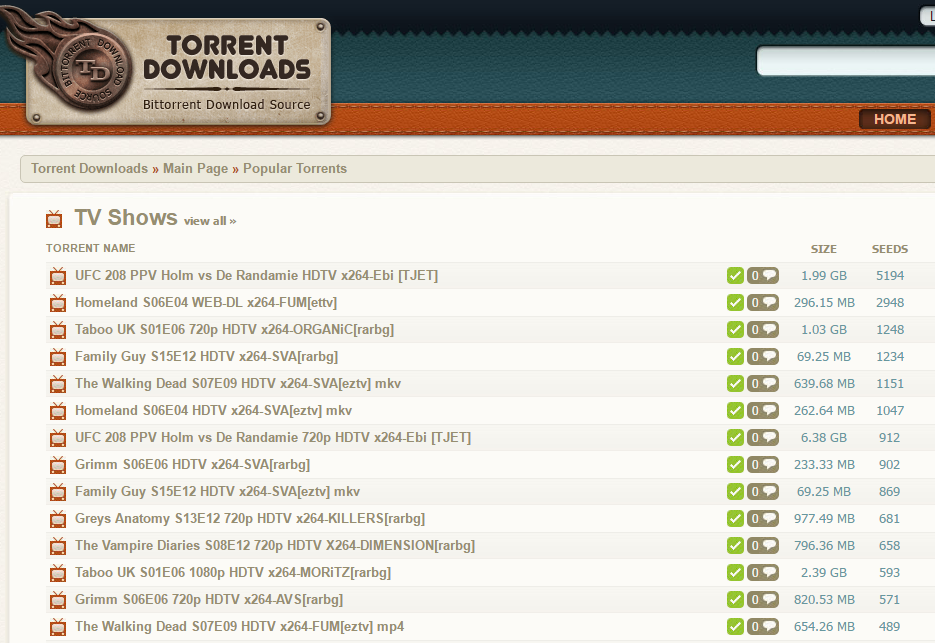 best torrent websites 2018