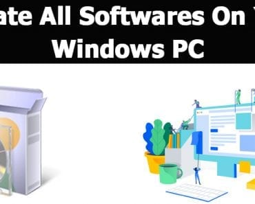 How to Update All Softwares on Your Windows PC
