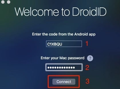 Unlock Mac with Android Device's Fingerprint