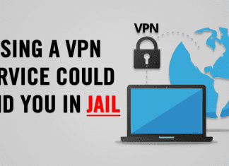 Using A VPN Service Could Land You In Jail