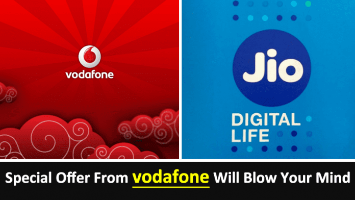 Jio Effect: Vodafone To Offer Unlimited 4G Data & Voice Starting At Rs. 7
