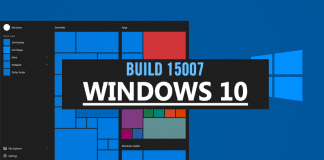 Windows 10 Insider Build 15007 Released With New Features