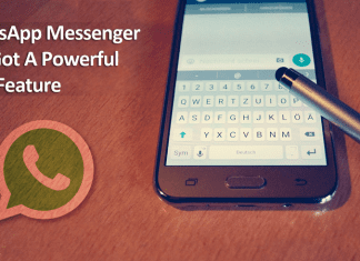 WhatsApp Messenger Just Got A Powerful New Feature