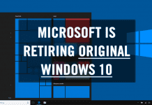 Microsoft Is Retiring Original Windows 10