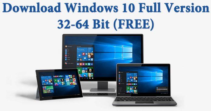 windows 10 32 bit full version with crack