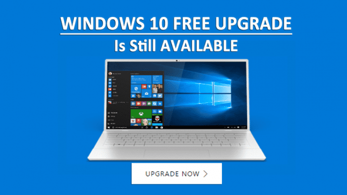 Windows 10 Free Upgrade Is Still Available For Installation