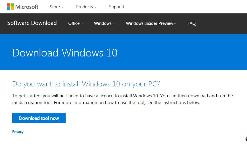 Do you want to install windows 10 on your pc?
