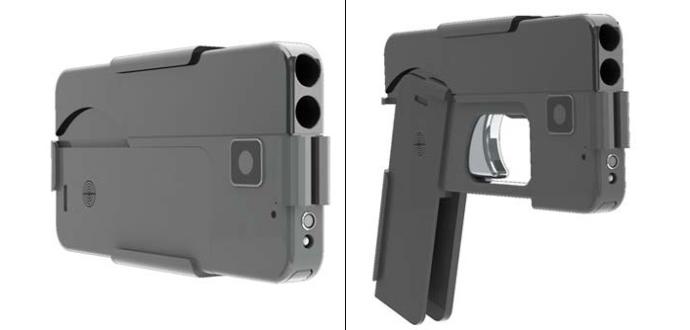 iPhone Gun - This Foldable Gun Looks Like iPhone Puts Europol On Alert