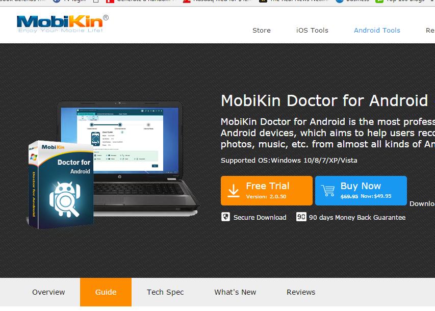 Using MobiKin Doctor