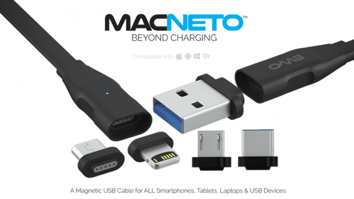 MACNETO: 1 Cable To Connect Your Android, iOS, Computer, And Other Things