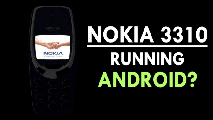 New Nokia 3310 Concept Running Android Looks Exceptional!