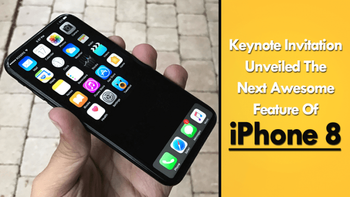Apple's Leaked Keynote Invitation Unveiled The Next Awesome Feature Of iPhone 8