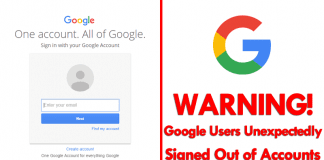 Beware! Google Is Unexpectedly Signing People Out Of Their Accounts